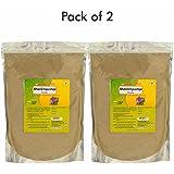 Herbal Hills Shankhpushpi 1 Kg Powder Pack Of 2 Natural Convolvulus Pluricaulis Powder In A Pouch -Brain Booste