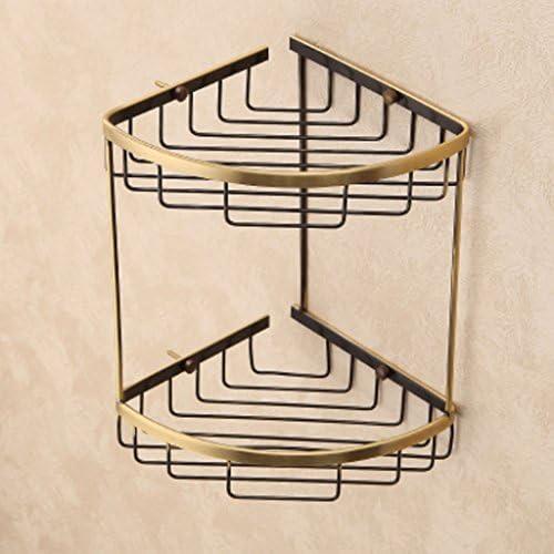 D Line Accessori Bagno.Mensola In D Oro Antico Bagno Cesto Cestino Accessori Bagno In