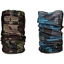 Noise Combo Of 13 in 1 Military Pixels And Blue Brown Pixels Bandana