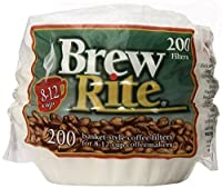 Brew Rite Basket Style Coffee Filters