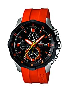 Casio Herren-Armbanduhr XL Edifice Analog Quarz Edelstahl EFM-502-1A4VUEF