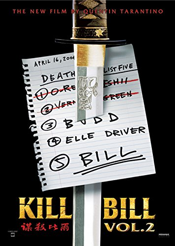 Kill Bill – Vol. 2 – Teaser – 61 x 91 cm Poster/Poster