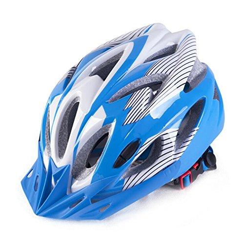 Scott 7 x Farben Edward Cycle Helm, Erwachsene Damen und Herren Sport Bike Helm für Road & Mountain Biking, Leichter Helm mit abnehmbarem Visier und rutschsicher verstellbar.