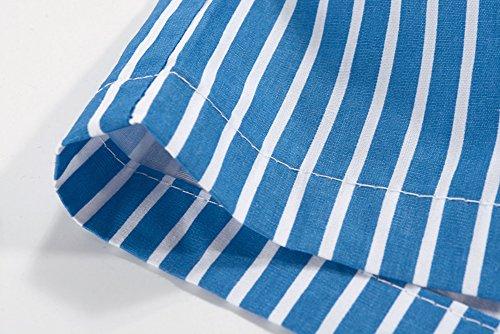 Promstar Herren Badeshorts Beachshorts Boardshorts Swimmingshorts stripe shorts for men's Grün
