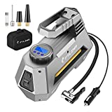 FYLINA AU01002 Digital Preset Air Compressor Car Tyre Pump, 12V 120W 120PSI