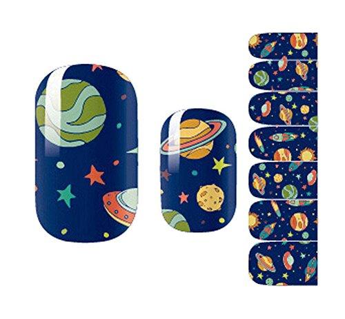 Set 5 Lovely Nail Stickers Nail Sticker Nail Art Bricolage