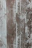 Vlies Tapete Antik Holz rustikal verwittert kiesel braun vertäfelung 68617