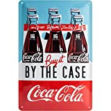 Nostalgic-Art 22266, Coca-Cola – by The Case, Cartel de Chapa 20 x 30 cm