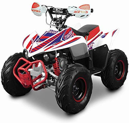 Quad motore 4 tempi 125cc ncx moto tracker r6 125 rosso