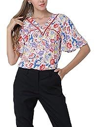 Jomuhoy Camiseta De Hombre Cuello Redondo Manga Corta De Verano Sólido Comoda Camisa alhlY