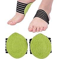 2 Paar Fuß Ferse Schmerzlinderung Plantar Fasciitis Einlegesohle Stützschuhe Einfügen Pads preisvergleich bei billige-tabletten.eu