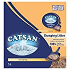 Catsan Clumping Cat Litter for Cats and Kittens, 1 Bag (1 x 5 L)