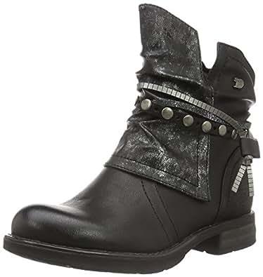 tom tailor damen 1695612 biker boots schwarz black 42 eu. Black Bedroom Furniture Sets. Home Design Ideas