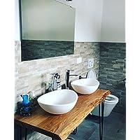 suchergebnis auf f r waschtisch holz k che haushalt wohnen. Black Bedroom Furniture Sets. Home Design Ideas
