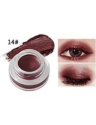 Hunpta Schönheit wasserdicht Eyeliner Gel Creme Eyeliner Lidschatten Gel Make-up Kosmetik (N)