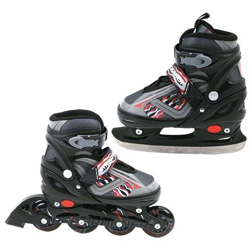 Speelgoed YX-0158 (2in1) BL 39 - Skate Inline / Schlittschuh 39-42