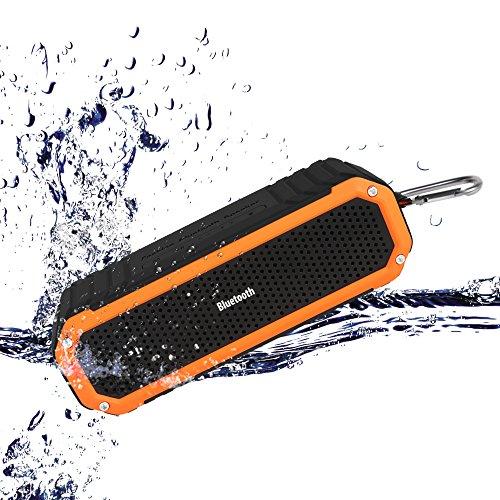 Altoparlante Bluetooth, Cassa Portatile,Simpeak Speaker Impermeabile Antipolvere Antigraffio Antiurto Amplificatore