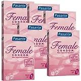 Femidom, 6x 3hembra Preservativos