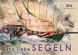 Ich liebe Segeln (Wandkalender 2018 DIN A3 quer): Sonne, Wind und Wellen bis zum Horizont. (Monatskalender, 14 Seiten) (CALVENDO Sport) [Kalender] [Apr 13, 2017] Roder, Peter
