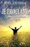Image de Je proclame - 31 promesses à proclamer sur votre vie