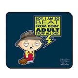 CafePress–Family Guy Stewie Erwachsene, rutschfester Gummi-Mauspad, Gaming Maus Pad