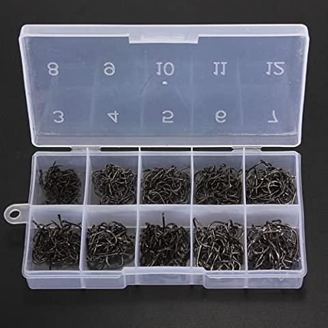 Generic Poisson Crochets de Pêche de Pêche Ishmael Ho Lot de 500de livraison 10tailles avec boîte de Royaume-Uni de livraison Ishmael de pêche Ho 500Lot de 10Taille < 1& 979* * * * * * * * 7>