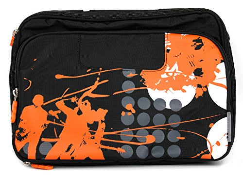 "DURAGADGET City-Tasche (Modell ""Messenger-On Tour again"") für EXELONIX ASINA (IFA 2014) Tablets"