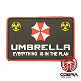 Cobra Tactical Solutions Umbrella Corporation Logo - Everything is in The Plan - Resident Evil 3D PVC Patch Hook & Loop Airsoft