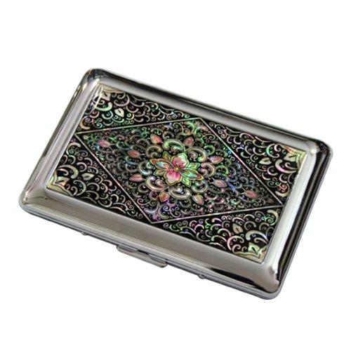 Arabesque Antike (Antik Alive Mutter Of Pearl Arabesque Design Gravur Metall Zigarettenspitze Fall)