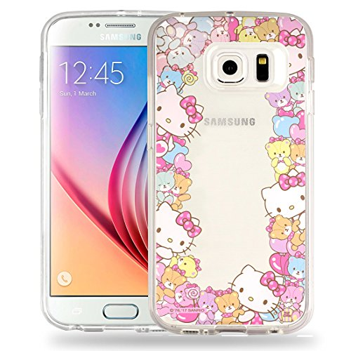 Sanrio Cute Jelly Case für Galaxy S5, Border Jelly Hello Kitty (Galaxy S5)