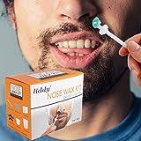 Nasenwachs, Nose Wax, Nasenhaare Wachs, Nasenwachs Set für Männer und Frauen, Quick Safe and...