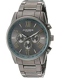 Akribos XXIV Reloj con movimiento cuarzo suizo Man AK736GN 45 mm