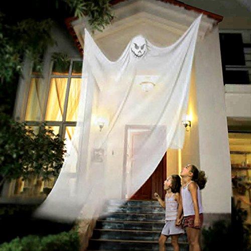 Halloween Dekoration liefert Hängende Geister Mall Supermarkt Bar KTV Spuk Haus Horror Requisiten (Color : White)