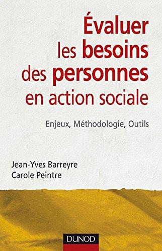 Evaluer les besoins de la personne en action sociale