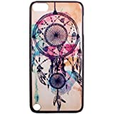 Dreamcatcher iPod Touch 5 Case - Tribal Feather Dream Catcher Hard Back Case Cover for Apple iPod Touch 5G 5 Gen 5th Generation