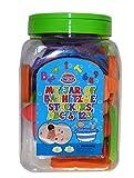 Barney & Buda BA046 - Pegatinas de baño, multicolor