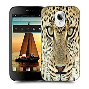 Snoogg Tanzania Leopard Designer Protective Phone Back Case Cover For Micromax A117 Canvas Magnus
