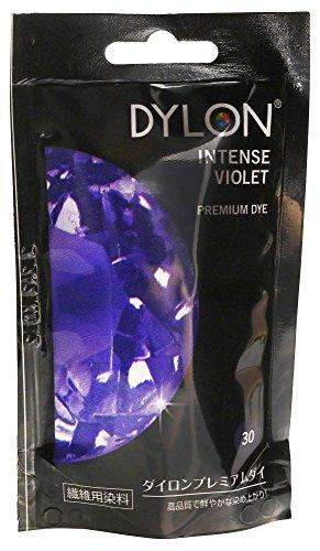 Dylon Stofffarbe, Bahama Blue, Pulver, intensiv Violett, 10x14x7.8 cm (Permanent Fabric Dye Dylon)