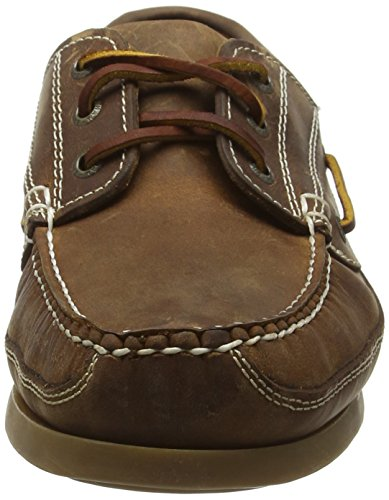 Chatham Rockwell, Chaussures Bateau Homme, Marron Brown (Walnut)