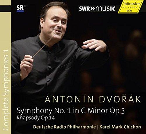 Preisvergleich Produktbild Dvorak: Sinfonische Werke - 1 (Rhapsodie op. 14,  Sinfonie Nr. 1)
