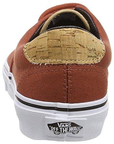Unisex Sneaker von Vans–Era 59CA Black (Cork Twill - Arabian Spice)