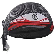 48a9223e73a6b SKYSPER Pañuelo Cabeza Bufanda Sombrero Respirable Secado Rápido Sombrero de  Pirata Deportivo Unisex para Bicicleta Ciclo