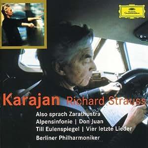 Richard Straus : Ainsi parlait Zarathoustra - Symphonie Alpestre - Till l'Espiègle - Quatre derniers lieder...