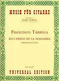 Recuerdos de la Alhambra. Gitarre