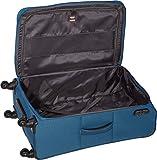 Travelite Koffer Derby 4-rad Trolley-set L/m + 2 Rad-trolley S + Bordbag, Petrol 77 cm 229 Liters Blau 84100-22 - 5