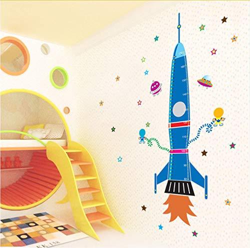 Namefeng Rocket Star Messlatte Messung Wandaufkleber Kinder Baby Kinderzimmer Schlafzimmer Aufkleber...