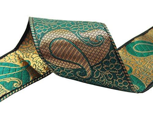 Paisley-Muster 7,11 Cm Breit Crafting Stoff Nähen Spitze Versorgung Trim Durch Den Hof