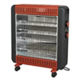 Best Infrared Heaters - Sealey IRH2200W Quartz Heater 2200W 230V with Wheels Review