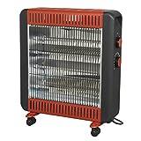 Sealey IRH2200W Quartz Heater 2200W 230V with Wheels