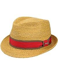 Stetson Cappello di Paglia Salango Trilby Cappelli da Spiaggia Estivo 43ba2c83efe4